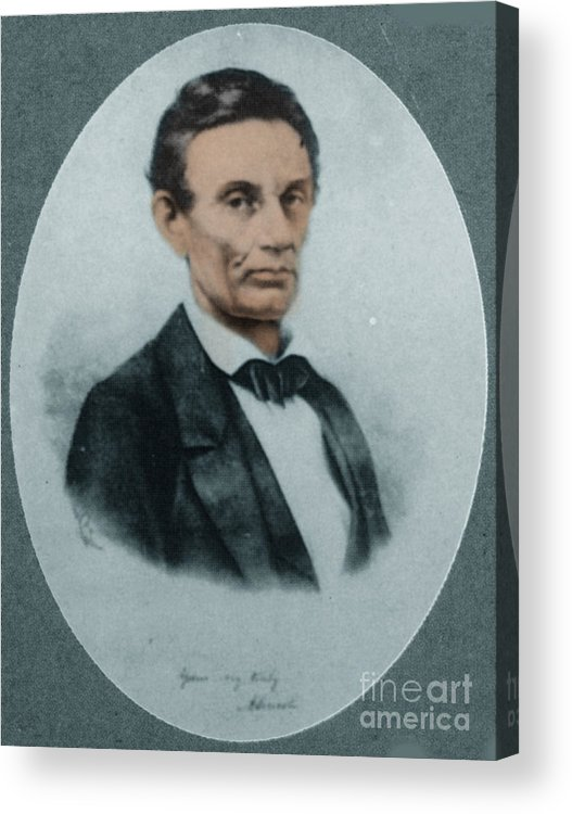 History Acrylic Print featuring the photograph Abraham Lincoln, 16th American President by Science Source