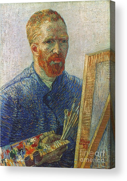 19th Century Acrylic Print featuring the photograph Vincent Van Gogh (1853-1890) by Granger