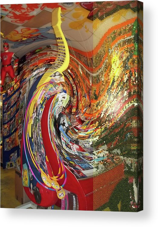 Swirl Acrylic Print featuring the photograph Afternoon Hallucination by Anne Cameron Cutri