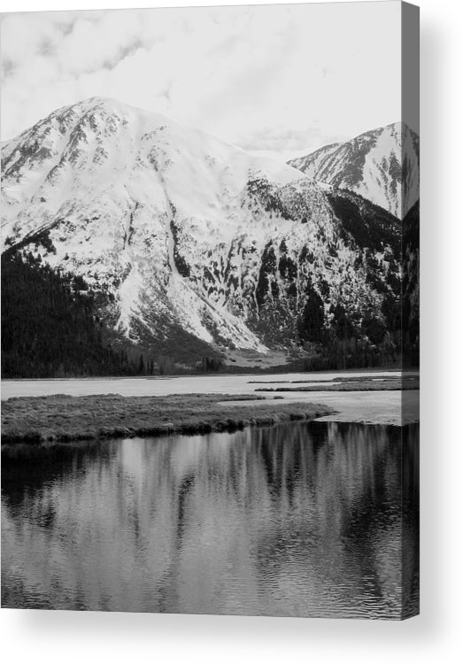 Landscape Acrylic Print featuring the photograph Alaska Reflection by Ty Nichols
