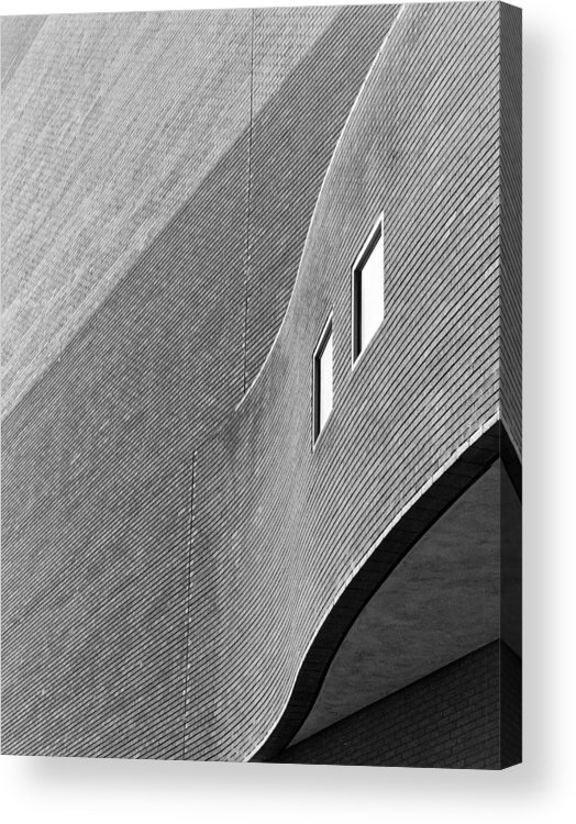 Architecture Acrylic Print featuring the photograph Alley Behind Boettcher by Jim Furrer