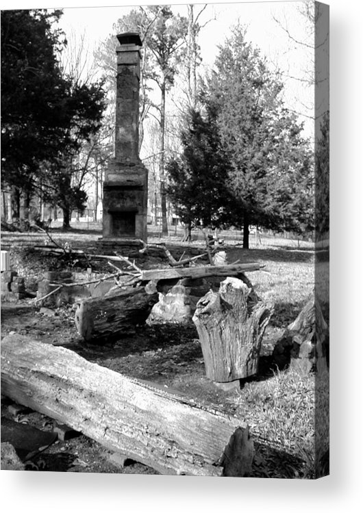 Acrylic Print featuring the photograph Cindy Winslow Chimney by Curtis J Neeley Jr