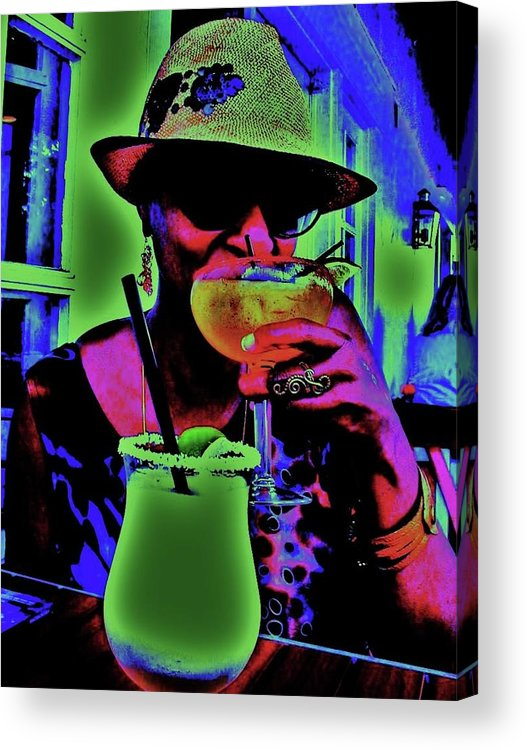 Cocktails Acrylic Print featuring the photograph Cocktails Anyone by Diana Dearen
