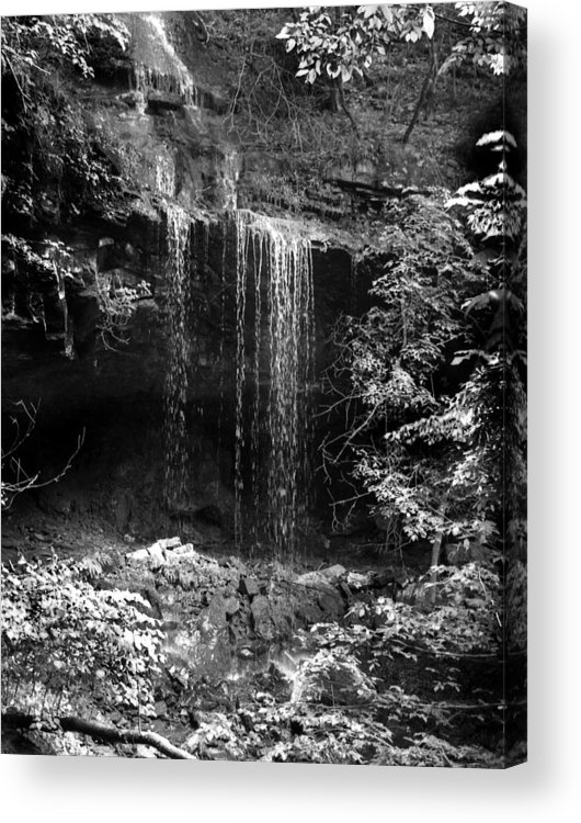 Ansel Adams Acrylic Print featuring the photograph Crikfall by Curtis J Neeley Jr