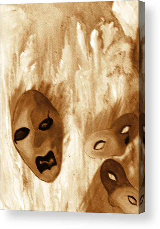 Abstract Acrylic Print featuring the print Don't Follow The Leader by Beverly Baxter