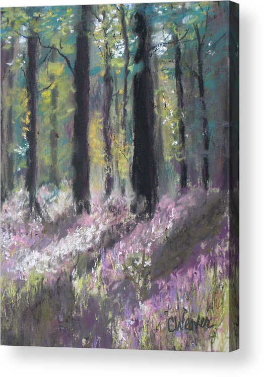 Impressionist Acrylic Print featuring the painting Gentle Wakening by Cathy Weaver
