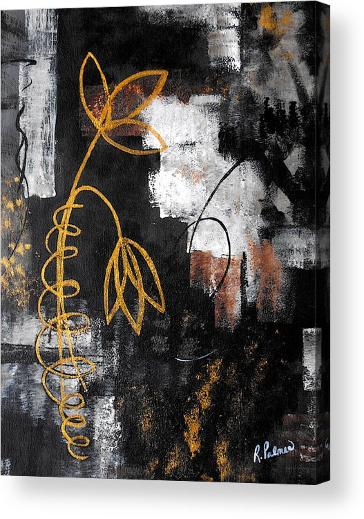 Abstract Acrylic Print featuring the painting House Of Memories by Ruth Palmer