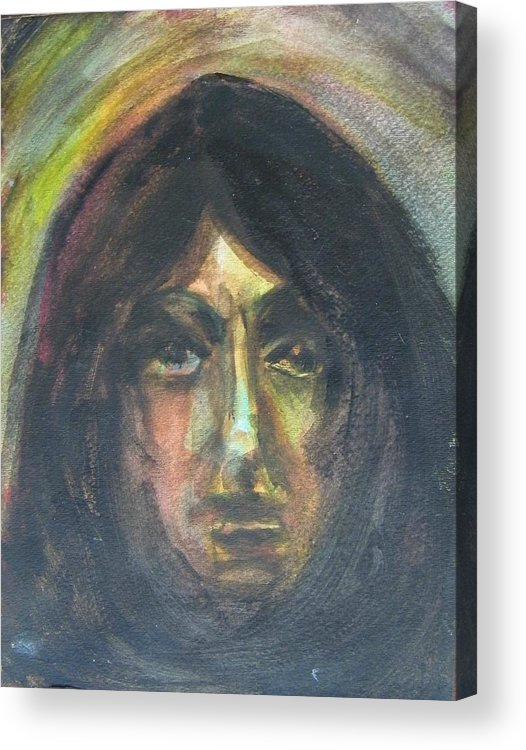 Abstract Acrylic Print featuring the painting I Am You by Judith Redman