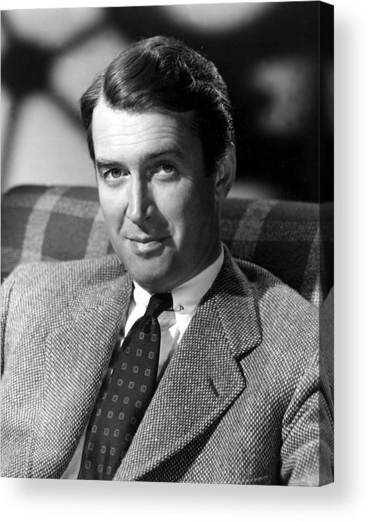1930s Portraits Acrylic Print featuring the photograph James Stewart, C. 1940s by Everett