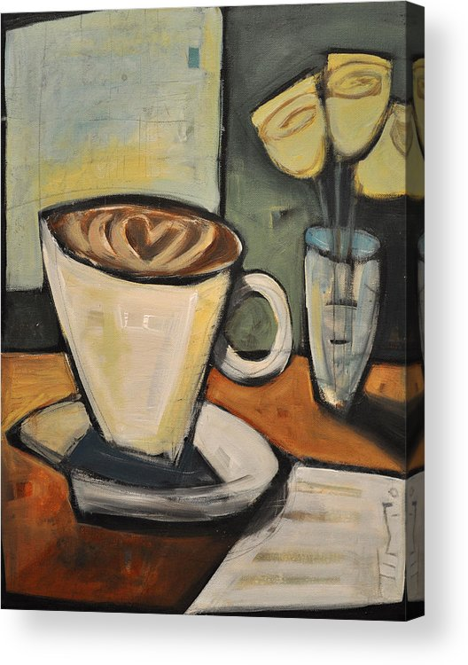 Java Acrylic Print featuring the painting Java Love by Tim Nyberg