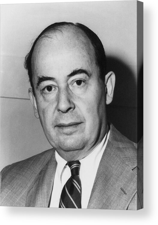 History Acrylic Print featuring the photograph John Von Neumann 1903-1957 by Everett