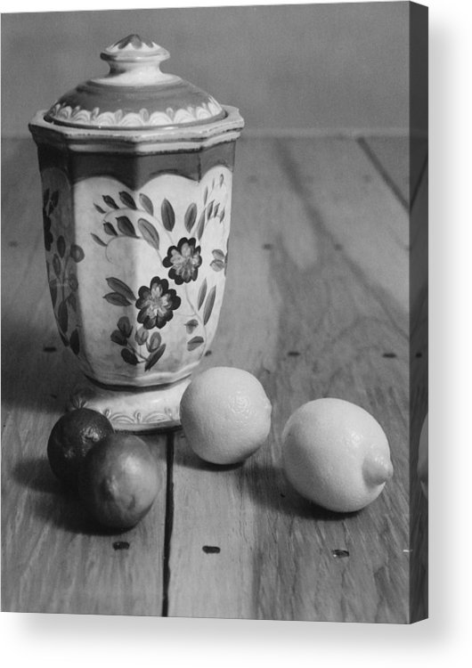 Cooking Acrylic Print featuring the photograph Lemons And Limes by Henry Krauzyk