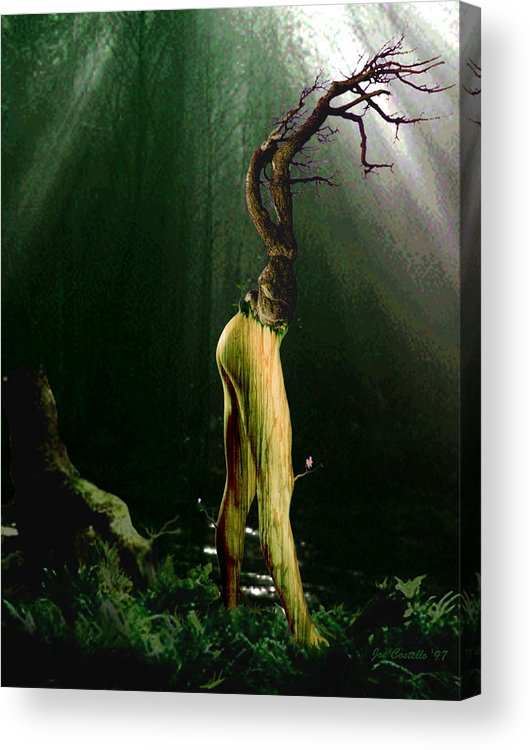 Tree Acrylic Print featuring the digital art Limbs by Joe Costello