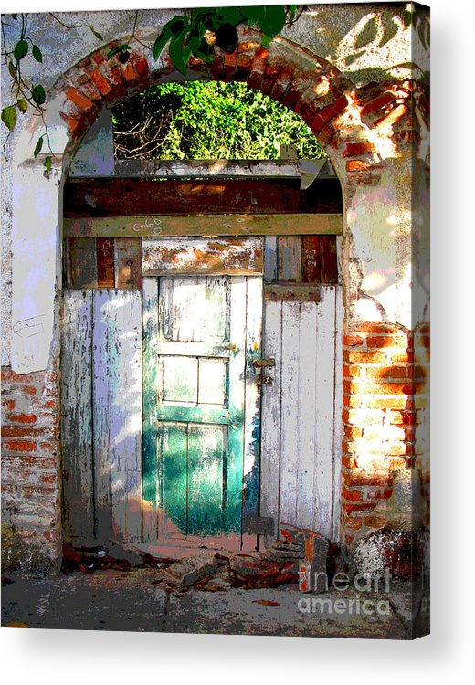 Darian Day Acrylic Print featuring the photograph Shaft Of Sunlight By Darian Day by Mexicolors Art Photography