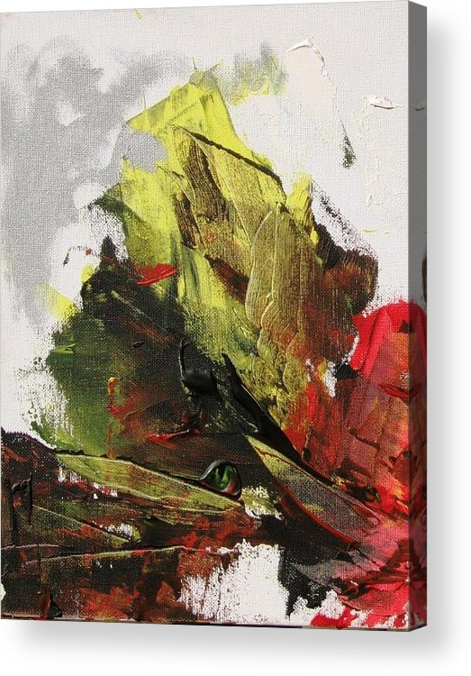 Sails Acrylic Print featuring the painting Shipwreck by Bruce Combs - REACH BEYOND