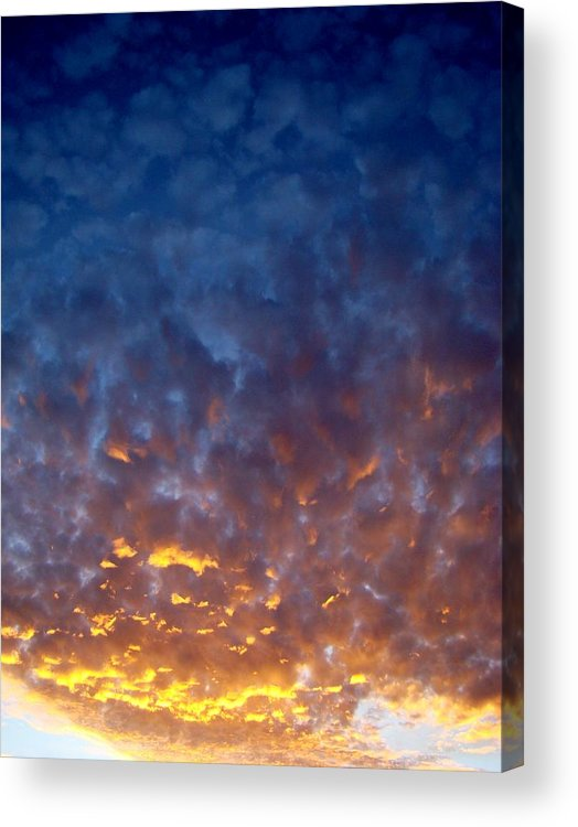 Clouds Acrylic Print featuring the photograph Supernatural Cloud Two by Ana Villaronga