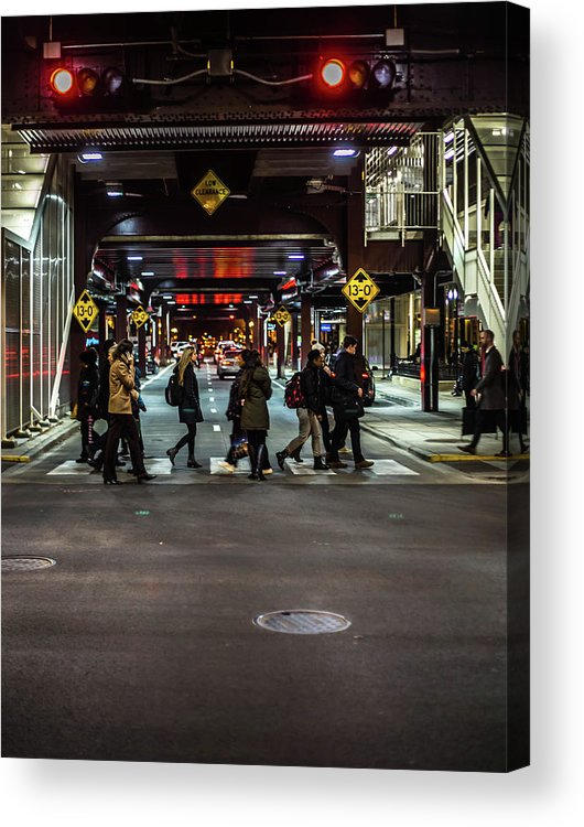 Acrylic Print featuring the photograph Wabash by Sue Conwell