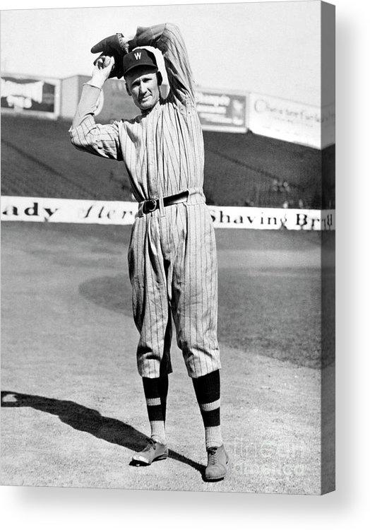 American League Baseball Acrylic Print featuring the photograph National Baseball Hall Of Fame Library 64 by National Baseball Hall Of Fame Library