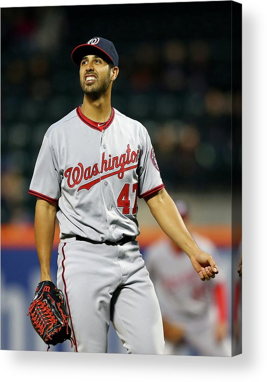 Residential District Acrylic Print featuring the photograph Gio Gonzalez by Elsa
