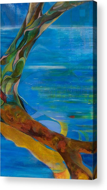 Landscape Acrylic Print featuring the print Arbour Lights by Meltem Quinlan