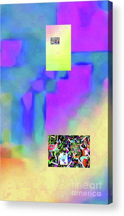Walter Paul Bebirian Acrylic Print featuring the digital art 5-14-2015fabcdefghijklmnopqrtuvwxyzabcdef by Walter Paul Bebirian