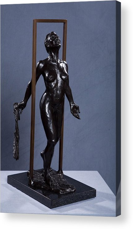 Female Acrylic Print featuring the sculpture Epiphany by Dan Earle