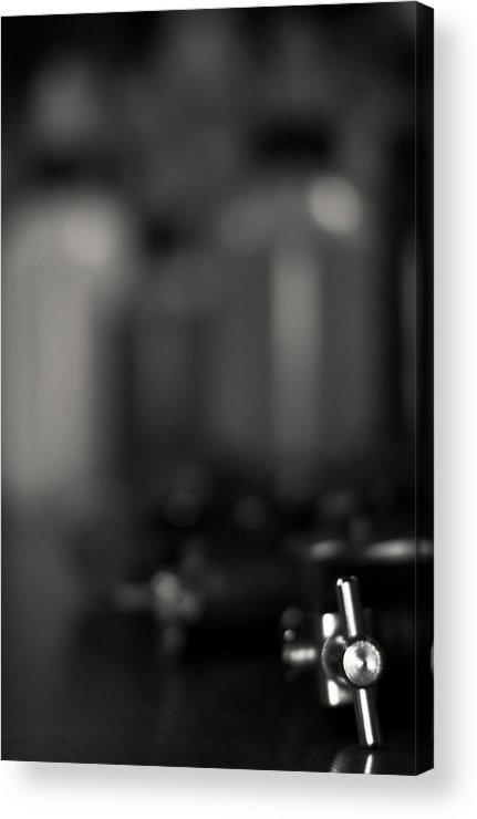 Black Acrylic Print featuring the photograph 'formula Of Addiction' by Adam M Dee