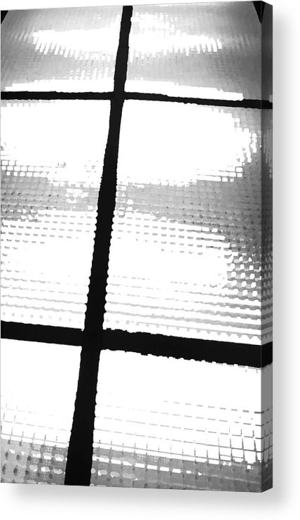 Light Acrylic Print featuring the photograph January 7 by Angela Siener