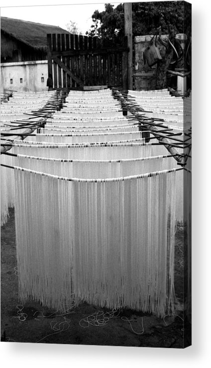 Burma Acrylic Print featuring the photograph Noodles by Marcus Best