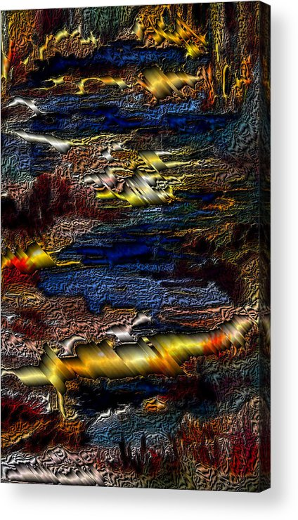 Metal Reflections Acrylic Print featuring the photograph Sheet Metal by Joanne Smoley