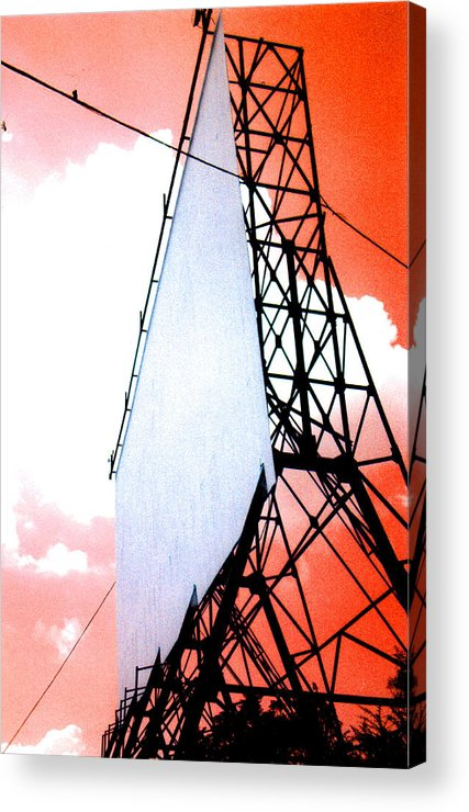 Last Acrylic Print featuring the photograph The Last Drive-in by Darren Stein