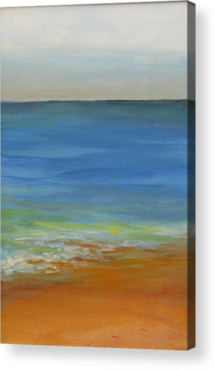 Ocean Acrylic Print featuring the painting Tide by David McKee