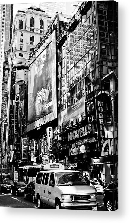 Darren Acrylic Print featuring the photograph Traffic Jungle by Darren Scicluna