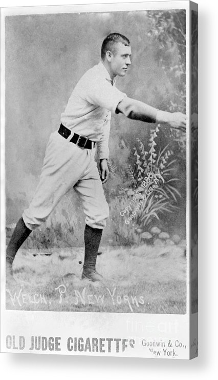 People Acrylic Print featuring the photograph National Baseball Hall Of Fame Library by National Baseball Hall Of Fame Library