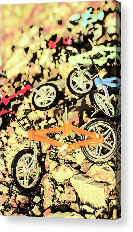 Sport Acrylic Print featuring the photograph Rocky Racers by Jorgo Photography - Wall Art Gallery