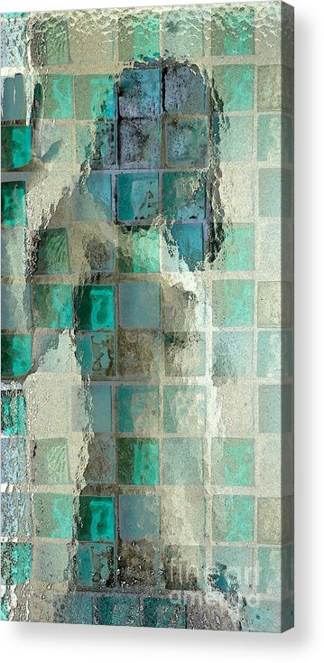 Woman Acrylic Print featuring the photograph Squared Away 7 by Jeff Breiman