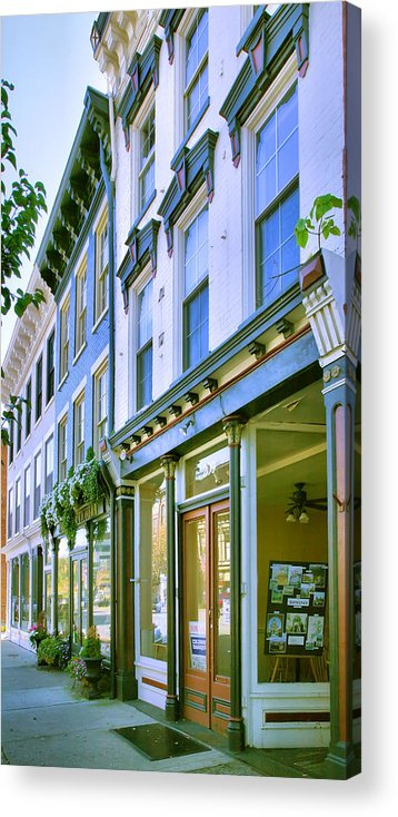 Shop Acrylic Print featuring the photograph Madison Shops IIi by Steven Ainsworth