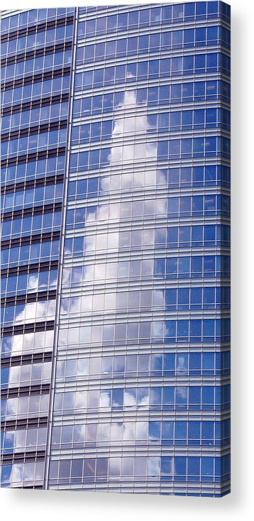 Architect Acrylic Print featuring the photograph Clouds by Kenna Westerman