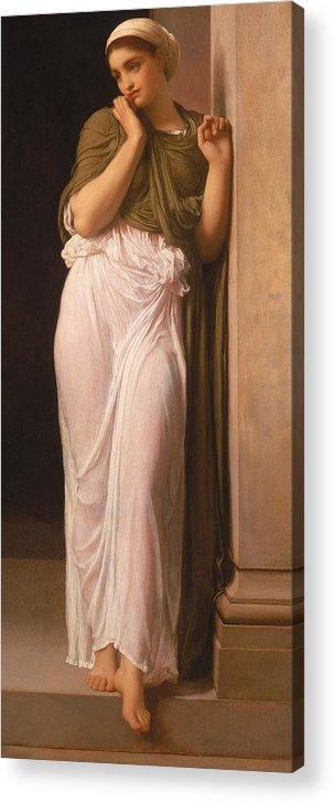 Leighton Acrylic Print featuring the painting Nausicaa by Frederic Leighton