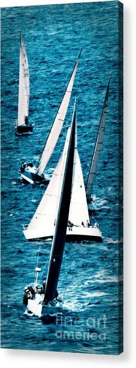 Sailing Acrylic Print featuring the photograph Sailing Regatta by Sandy Buckley