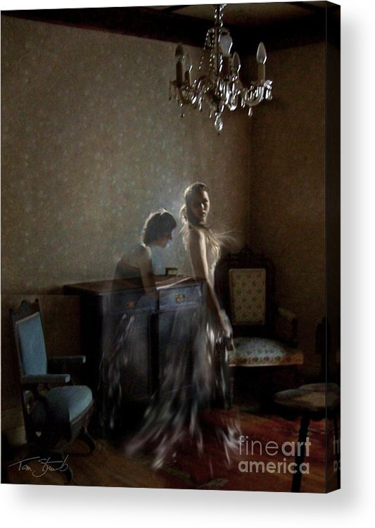 Bride Acrylic Print featuring the photograph Brides Maid by Tom Straub