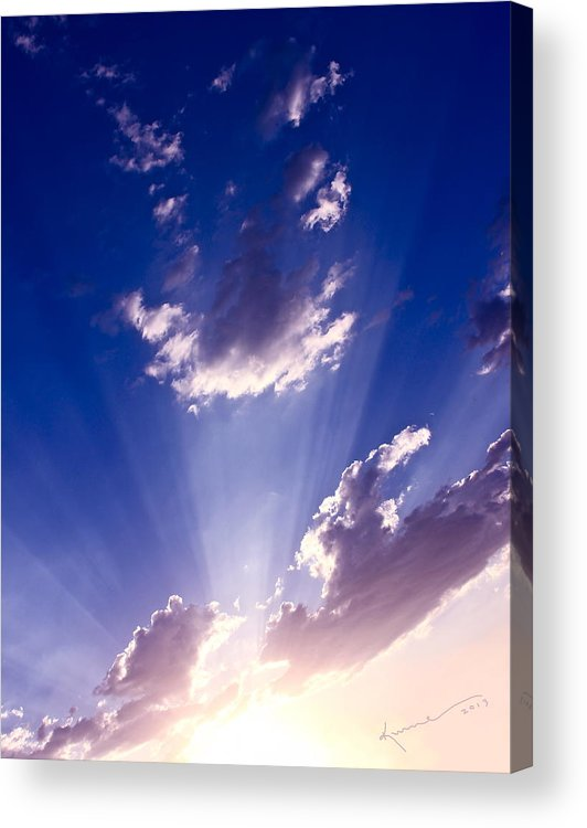 His Glory Acrylic Print featuring the photograph His Glory 2 by Kume Bryant