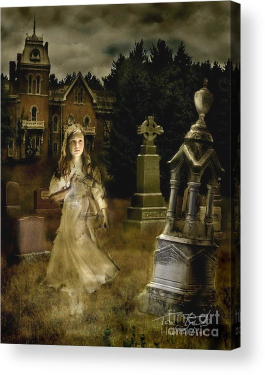 Ghost Acrylic Print featuring the photograph Jessica by Tom Straub