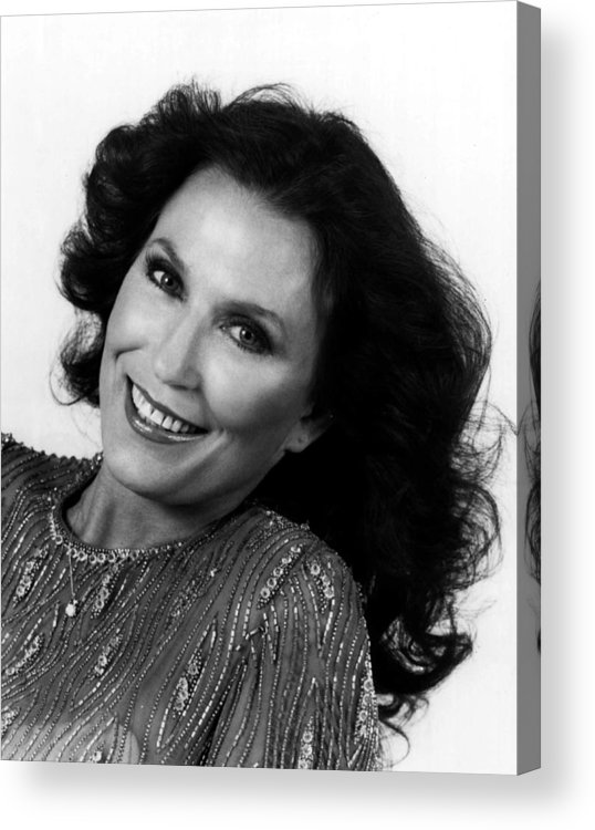 Retro Images Archive Acrylic Print featuring the photograph Loretta Lynn Close Up by Retro Images Archive