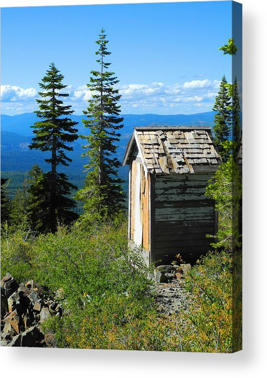Mountains Acrylic Print featuring the photograph Solitude by Sue McElligott