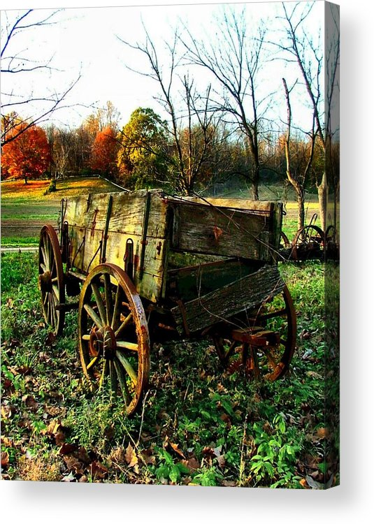 Conestoga Acrylic Print featuring the photograph The Old Conestoga by Julie Dant