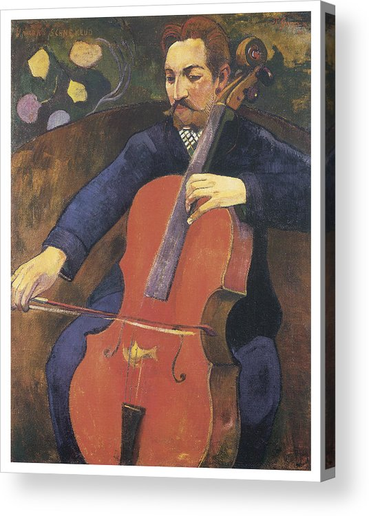 Paul Gauguin Acrylic Print featuring the painting Upaupa Schneklud by Paul Gauguin