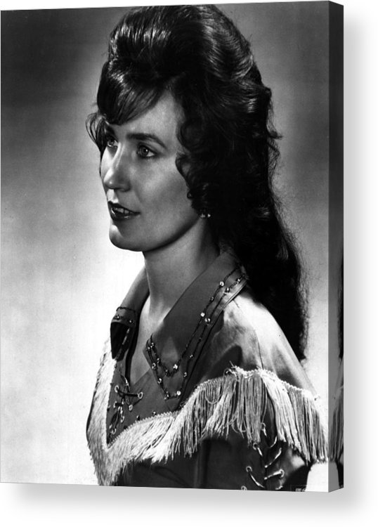 Retro Images Archive Acrylic Print featuring the photograph Younger Loretta Lynn by Retro Images Archive