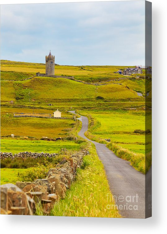 Doonagore Castle Acrylic Print featuring the photograph Doonagore Castle by Gabriela Insuratelu