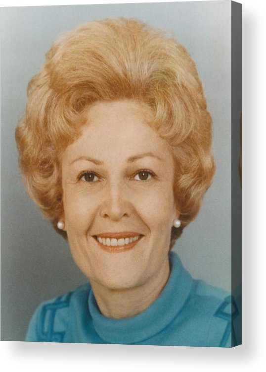 History Acrylic Print featuring the photograph First Lady Patricia Nixon 1912-1993 by Everett